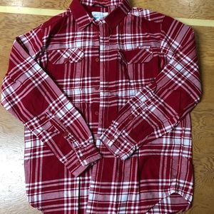 WI Badgers Columbia flannel